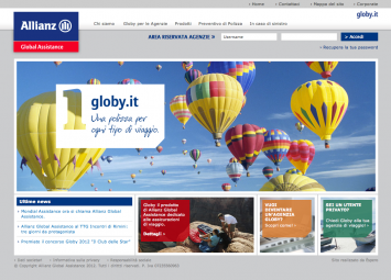 Globy© di Allianz Global Assistance