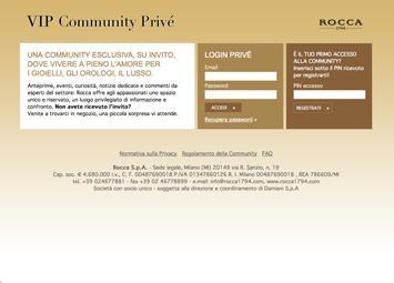 Rocca 1794 – VIP Community Privé