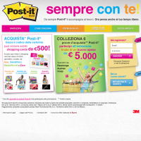 Nuovo concorso: 3M Post-it® sempre con te!