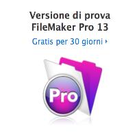Novità! FileMaker Pro 13: migliore progettazione, sviluppo più rapido, maggiore sicurezza