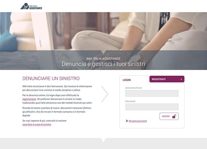 Portale Sinistri di IMA ITALIA