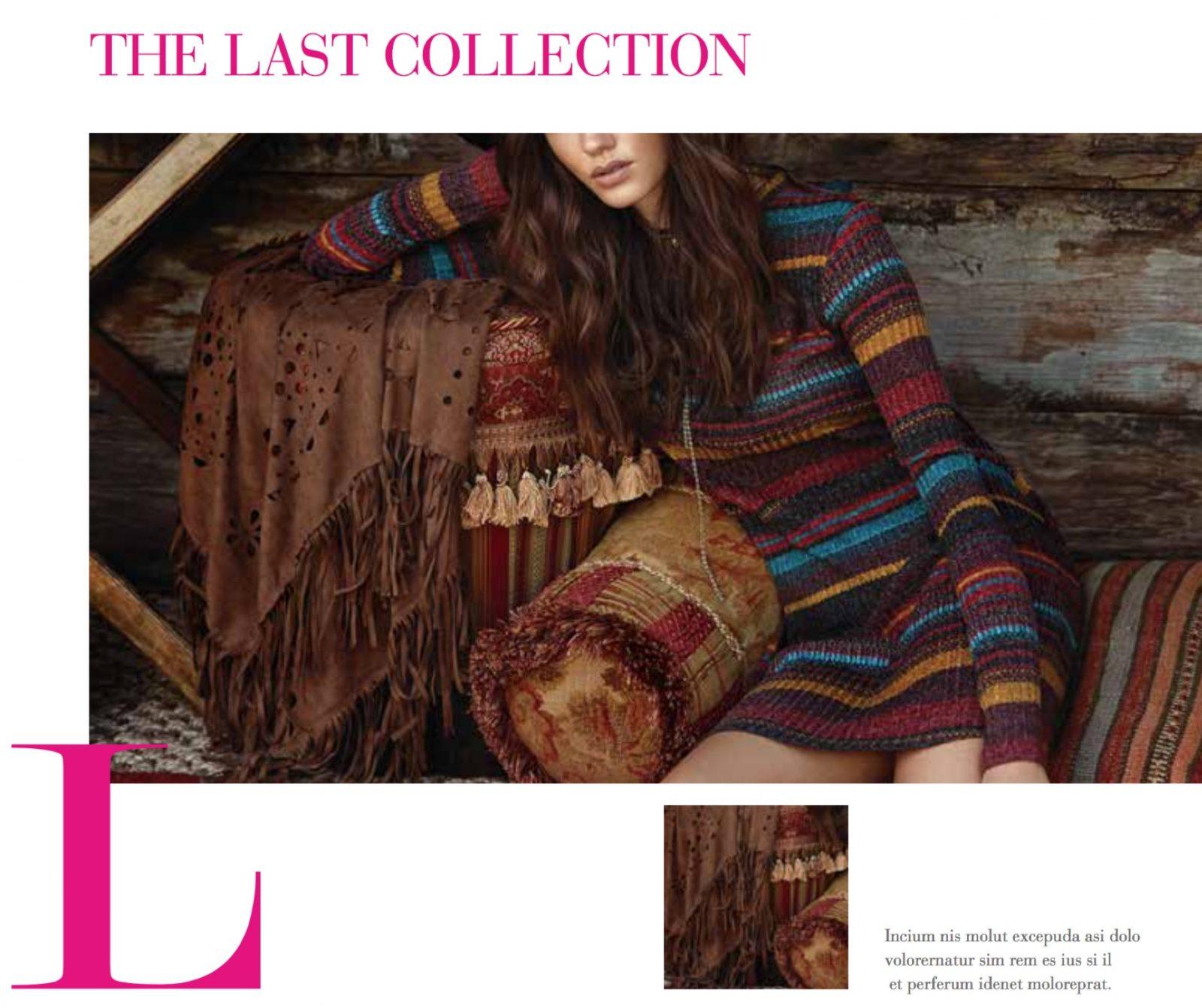 cataloghi per il fashion, lezioni Espero