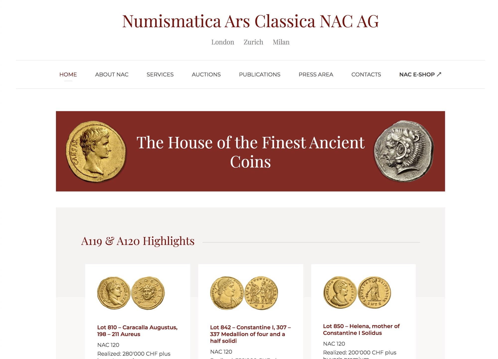 Numismatica Ars Classica NAC AG