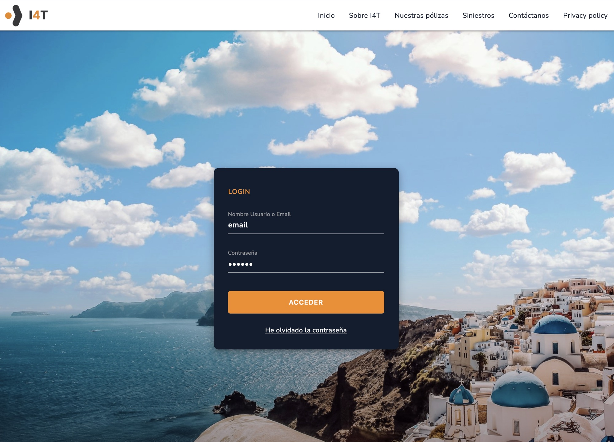 I4T – Insurance Travel B2B Spagna