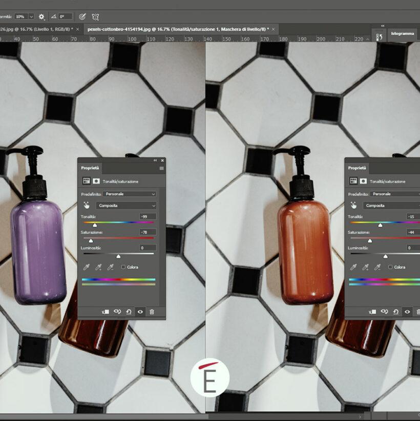 Un esempio di cambio colore in Adobe Photoshop