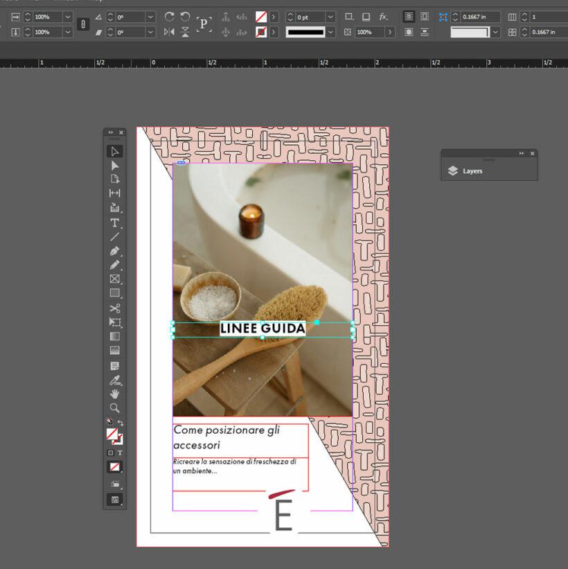 Leaflet in Adobe Indesign