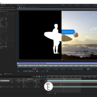 Isolare un soggetto in un video.Rotoscoping in after effects